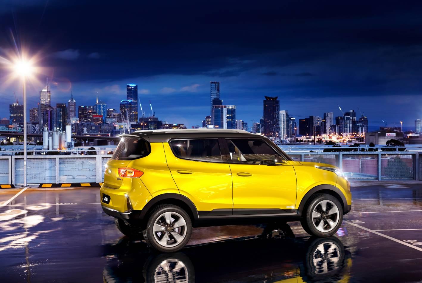 Chevrolet Cars - News: Chevrolet Adra small SUV for India