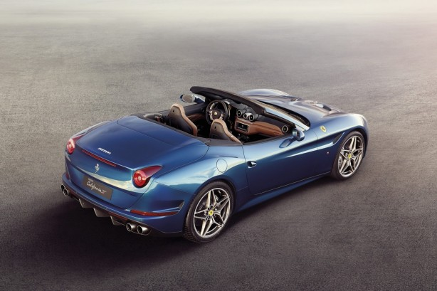 Ferrari California T rear quarter top