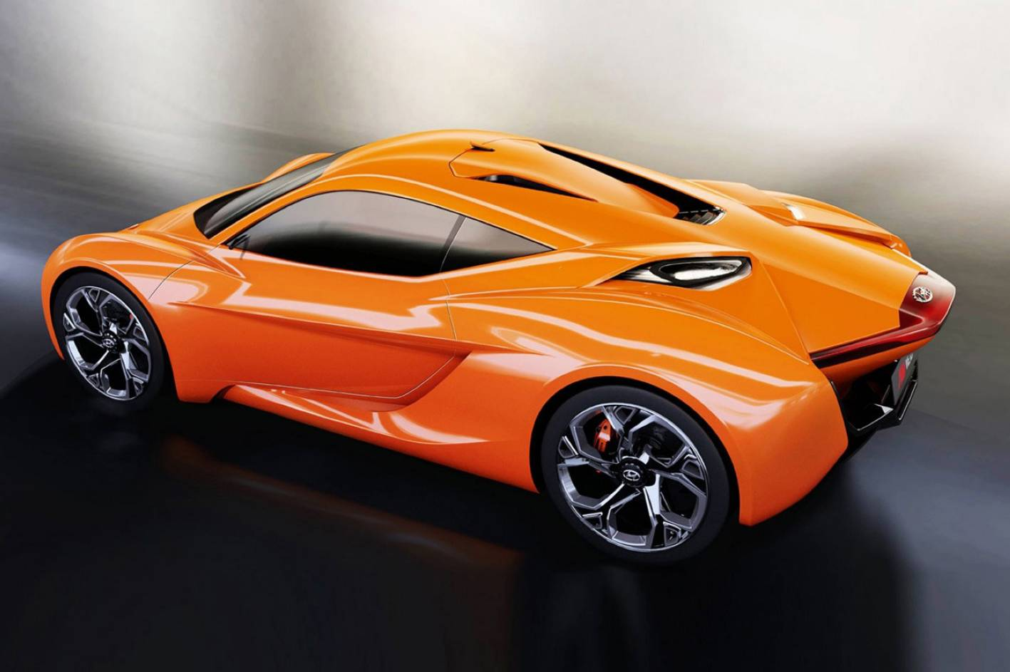 Hyundai Pocorto Sports Car Concept Side