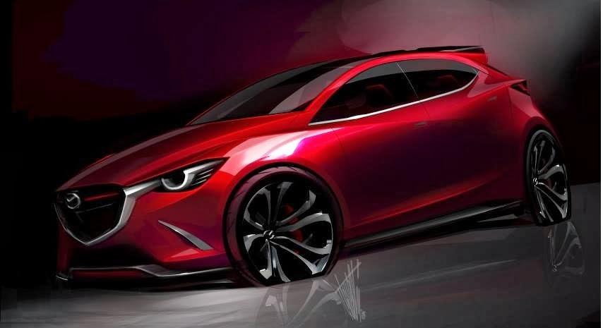 Mazda Cars News Hazumi Concept Previews 2015 Mazda2