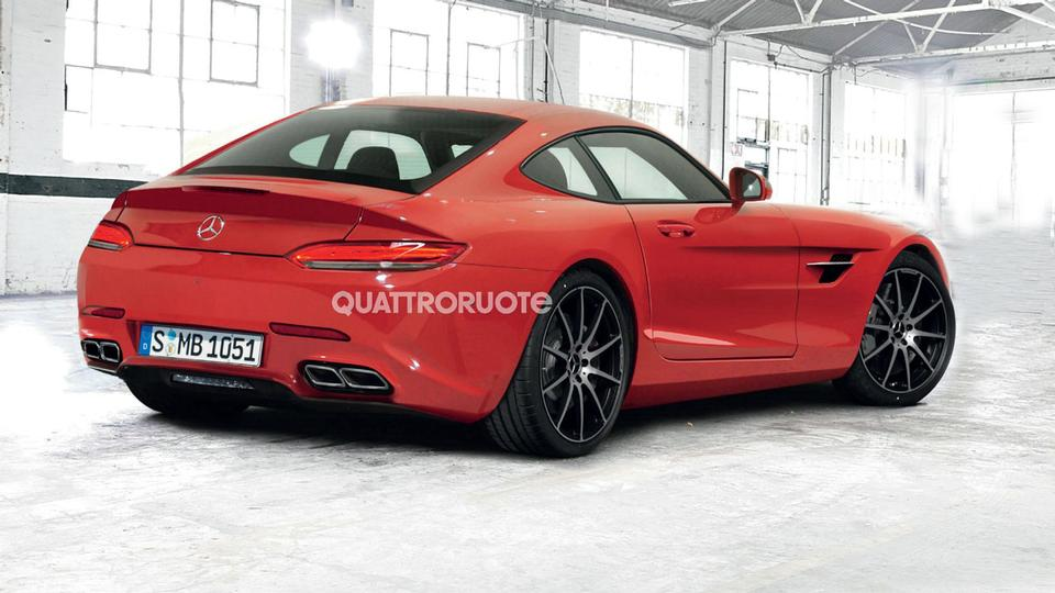 mercedes cars news amg gt realistically imagined. Black Bedroom Furniture Sets. Home Design Ideas