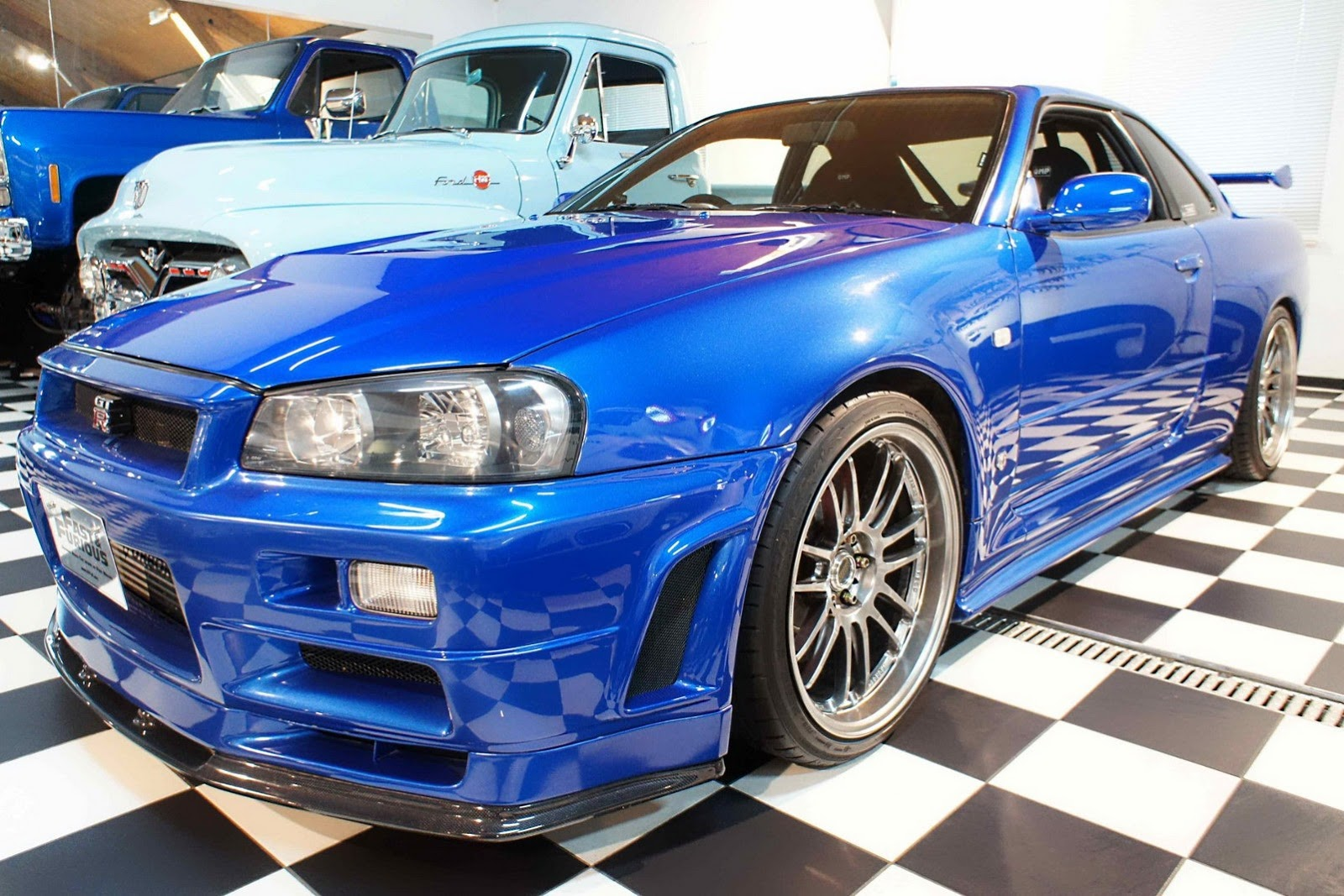 Paul Walker S Fast Amp Furious R34 Nissan Skyline Gt R Front