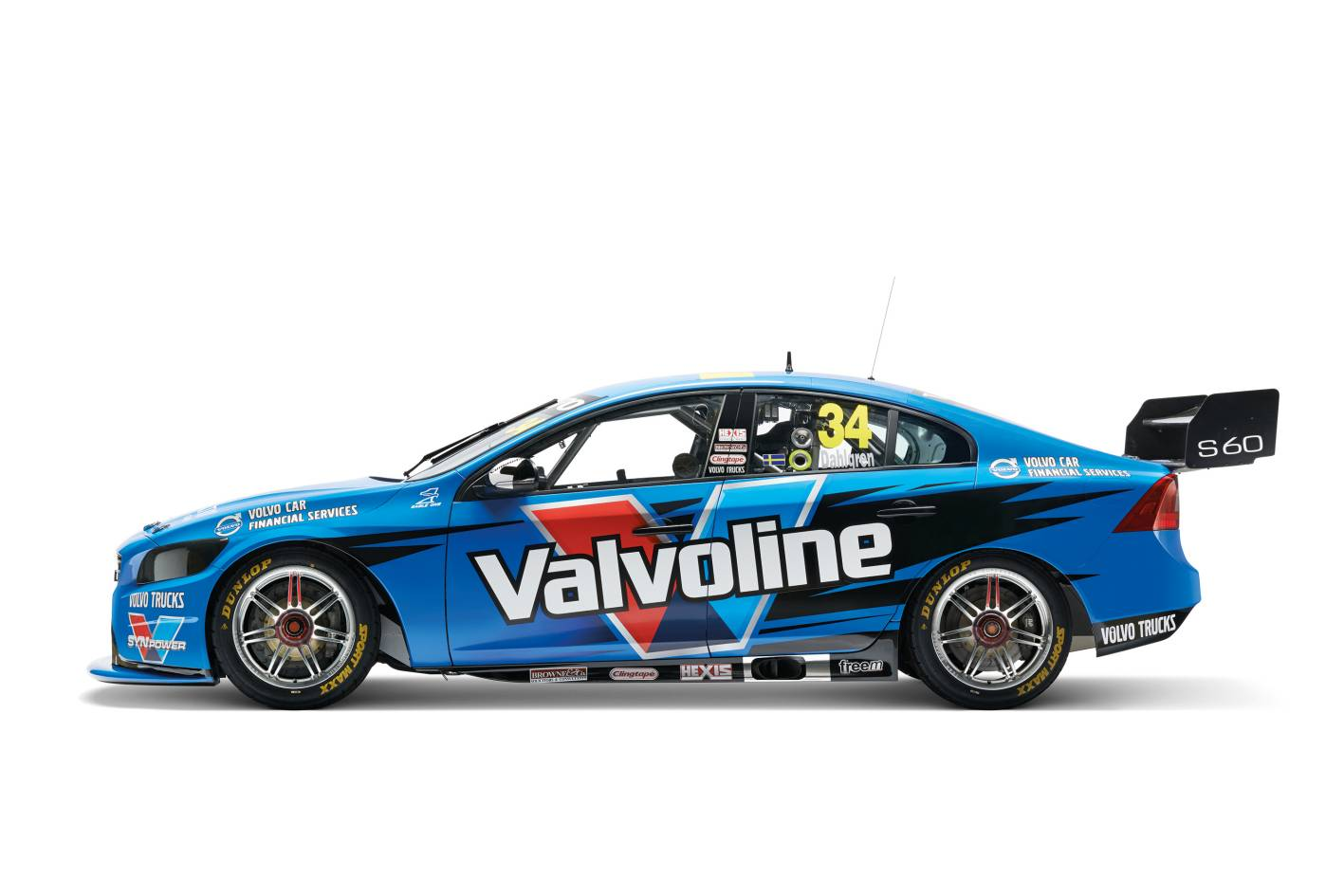 Volvo Cars - News: Polestar Racing S60 V8 Supercar race debut