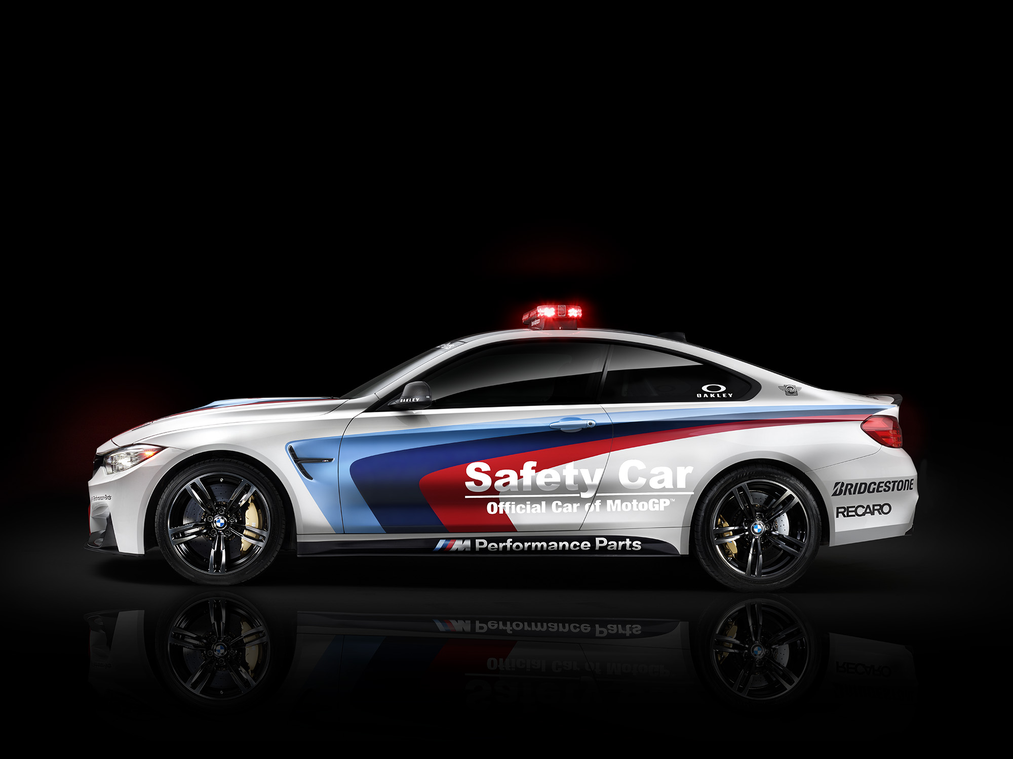 Bmw m4 is the official 2014 motogp safety car