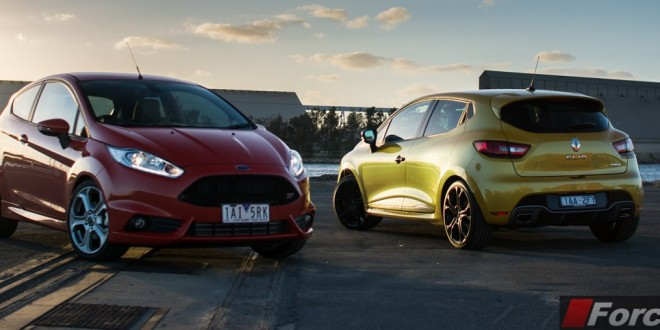 Ford Vs Renault Comparison Fiesta St Vs Clio R S 200 Edc