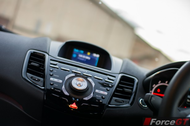 2014 Ford Fiesta ST infotainment system