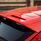 2014 Ford Fiesta ST roof mounted spoiler