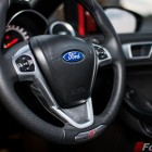 2014 Ford Fiesta ST steering wheel