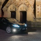 2014 Lexus ES350 front quarter night