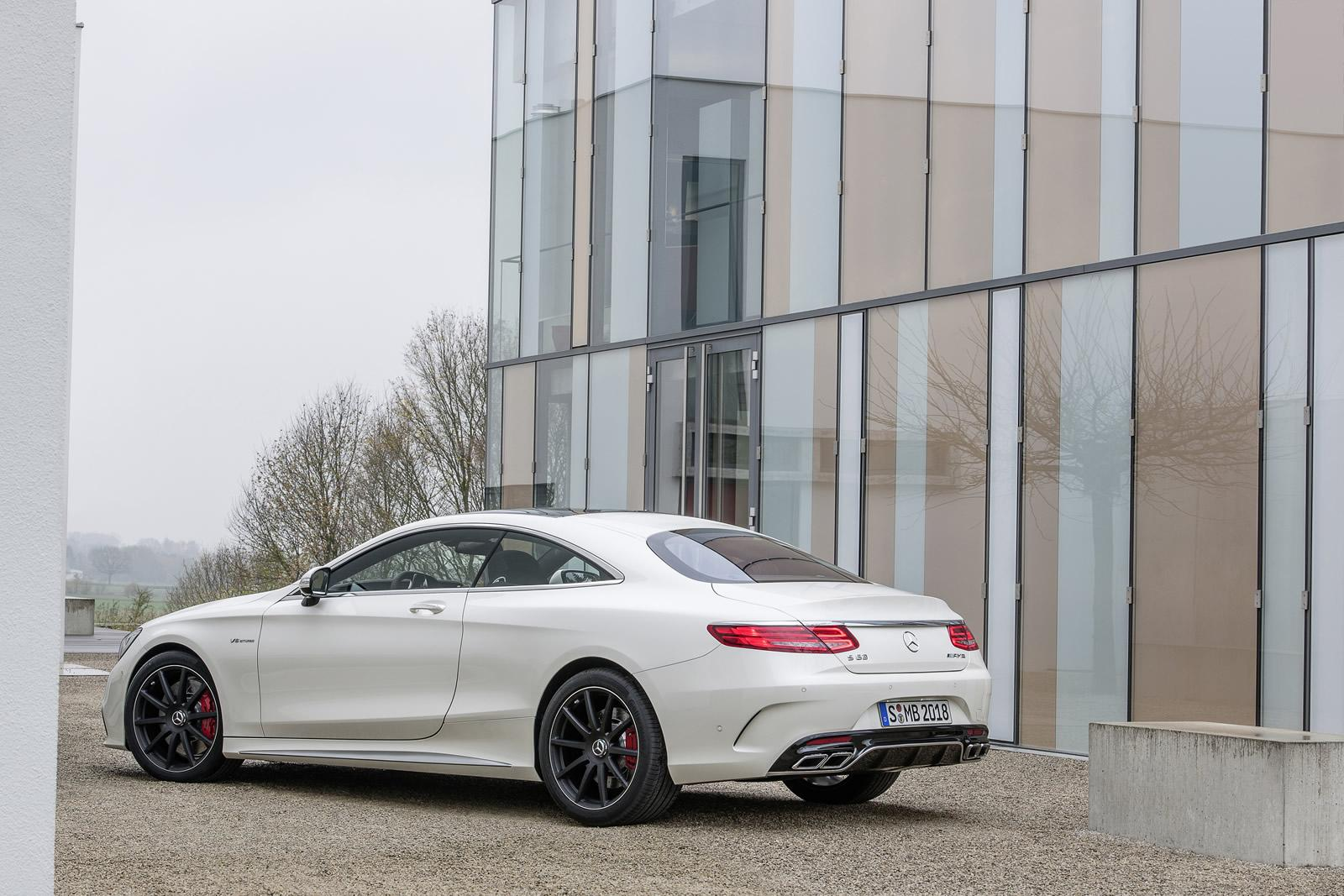 Mercedes cars news s 63 amg coupe officially unveiled for Mercedes benz s63 amg coupe