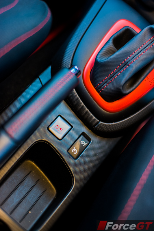 2014 Renault Clio RS RS Drive button