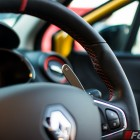 2014 Renault Clio RS paddle shifters
