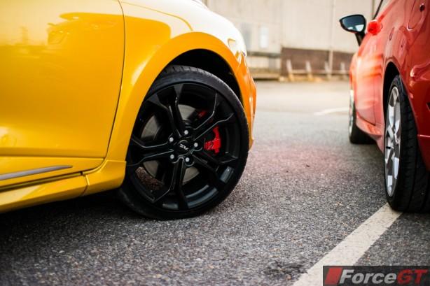2014 Renault Clio RS wheel