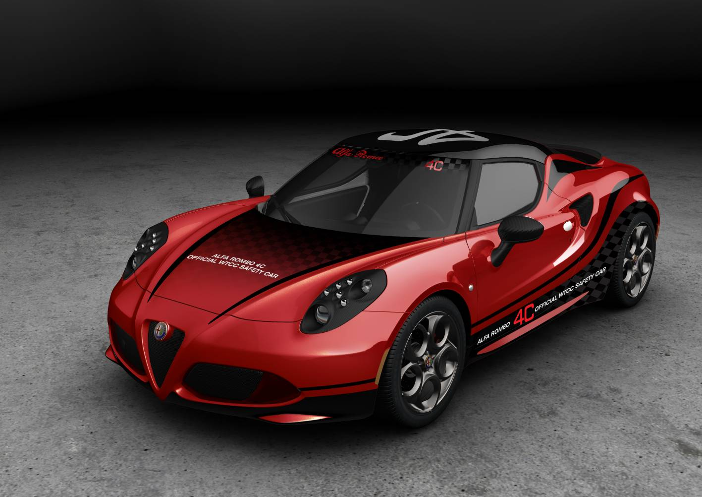 alfa romeo cars news 4c coupe announced as wtcc safety car. Black Bedroom Furniture Sets. Home Design Ideas
