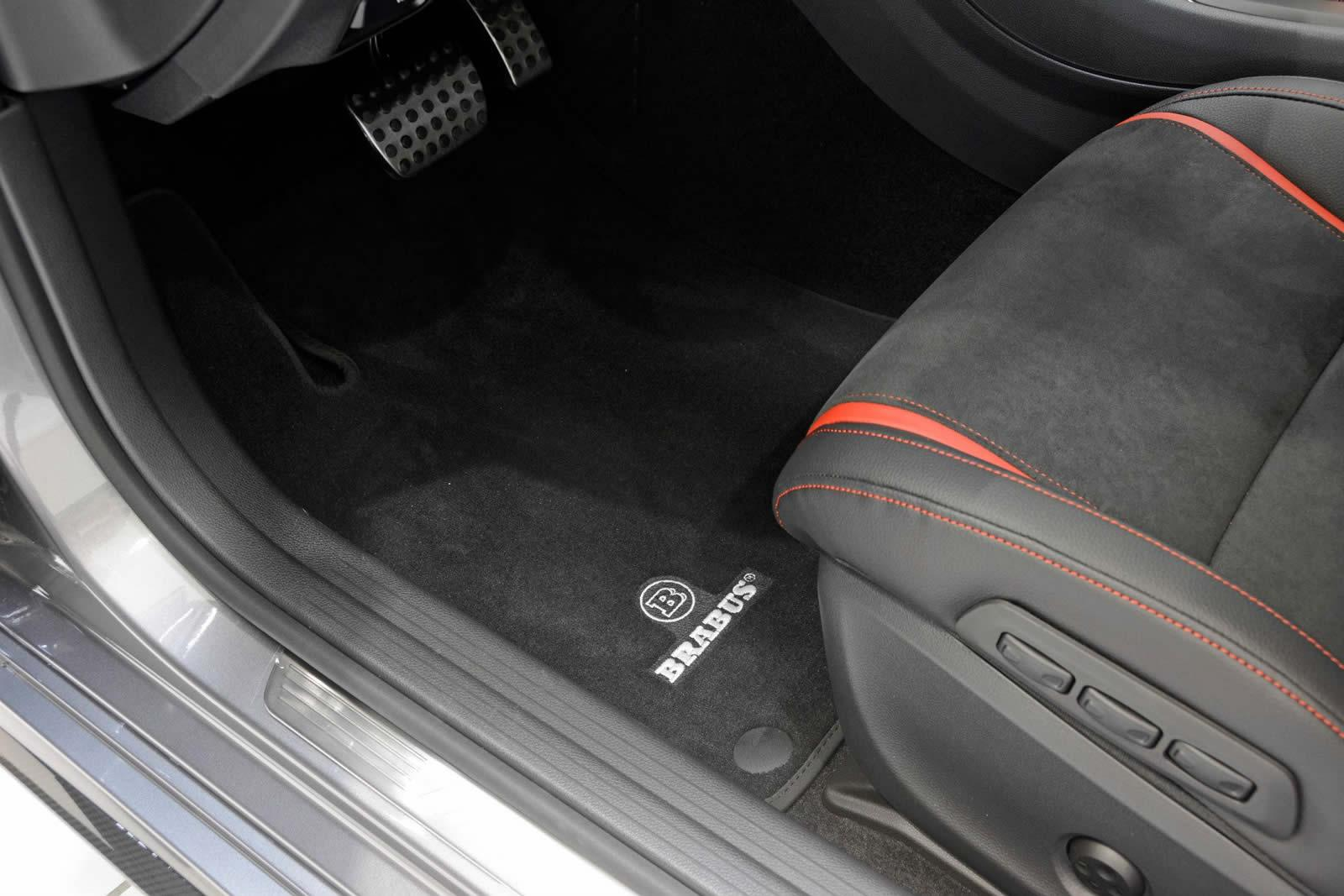 Mercedes tuning brabus tuned cla45 amg with nearly 300kw for Mercedes benz glc 300 floor mats
