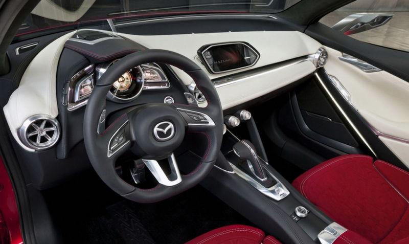 Mazda Hazumi Concept interior - ForceGT.com