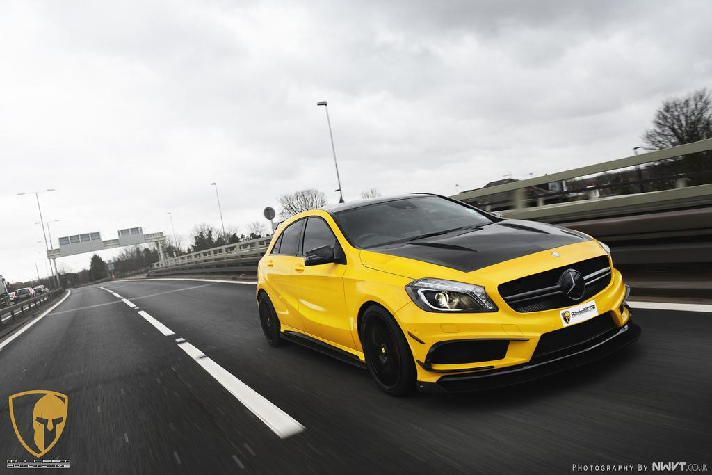 mercedes benz tuning revozport and mulgari spices up a45 amg. Black Bedroom Furniture Sets. Home Design Ideas