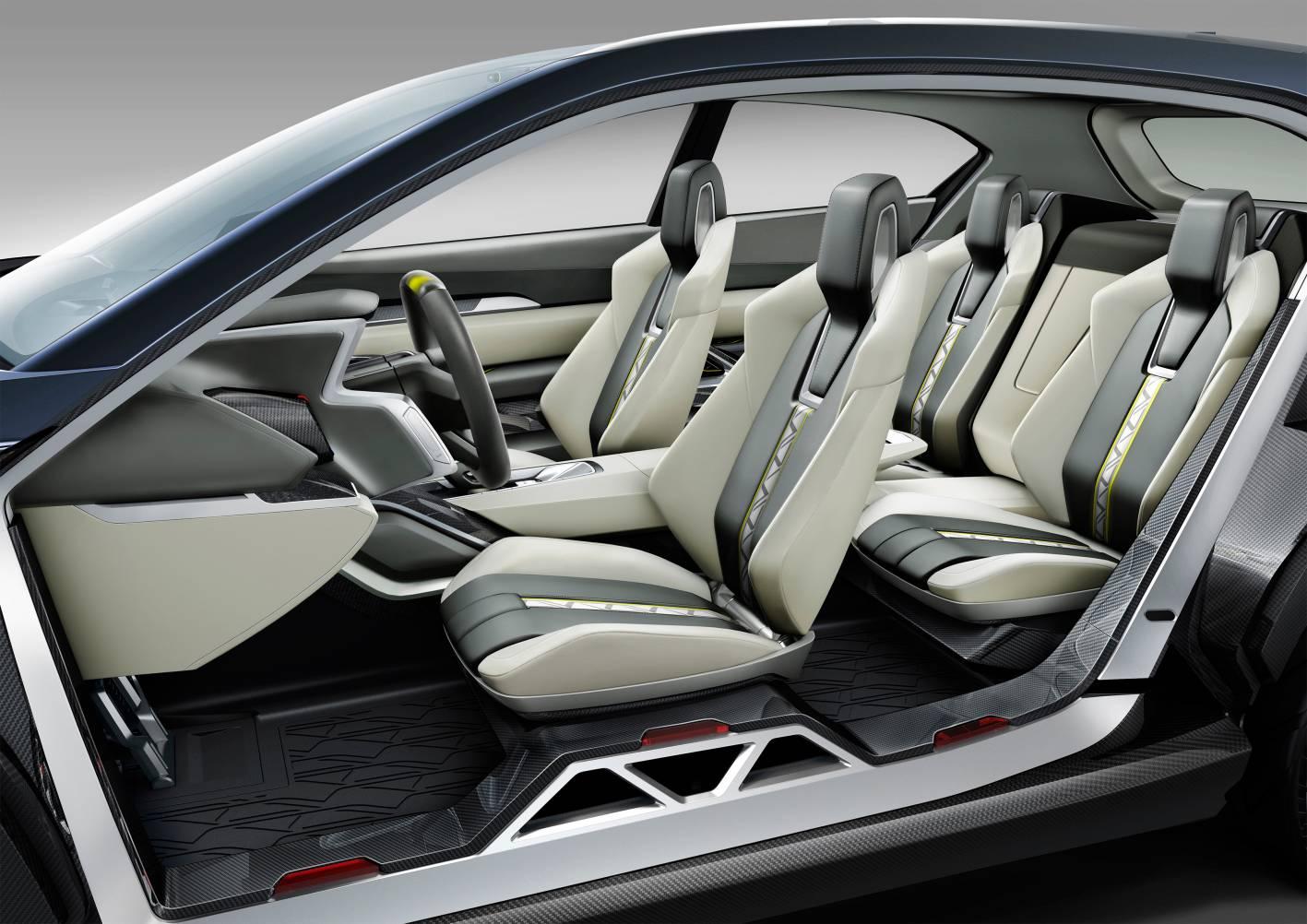 Subaru Cars - News: VIZIV 2 concept previews future drivetrain