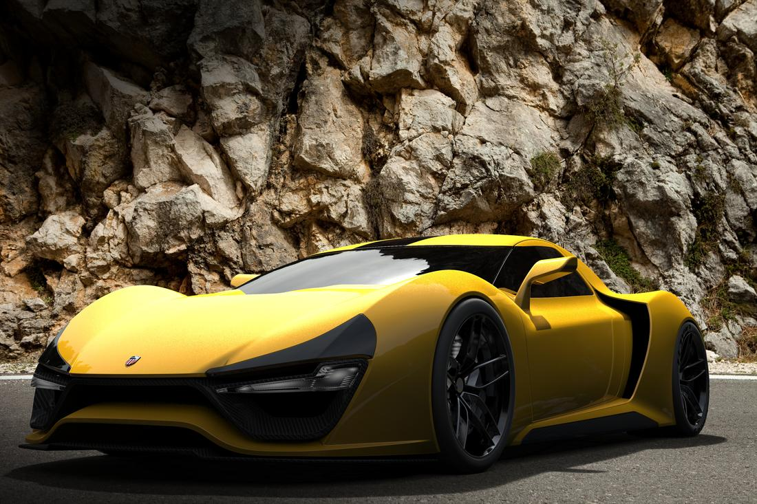 Trion Cars- News: Nemesis, American supercar with 1,491kW