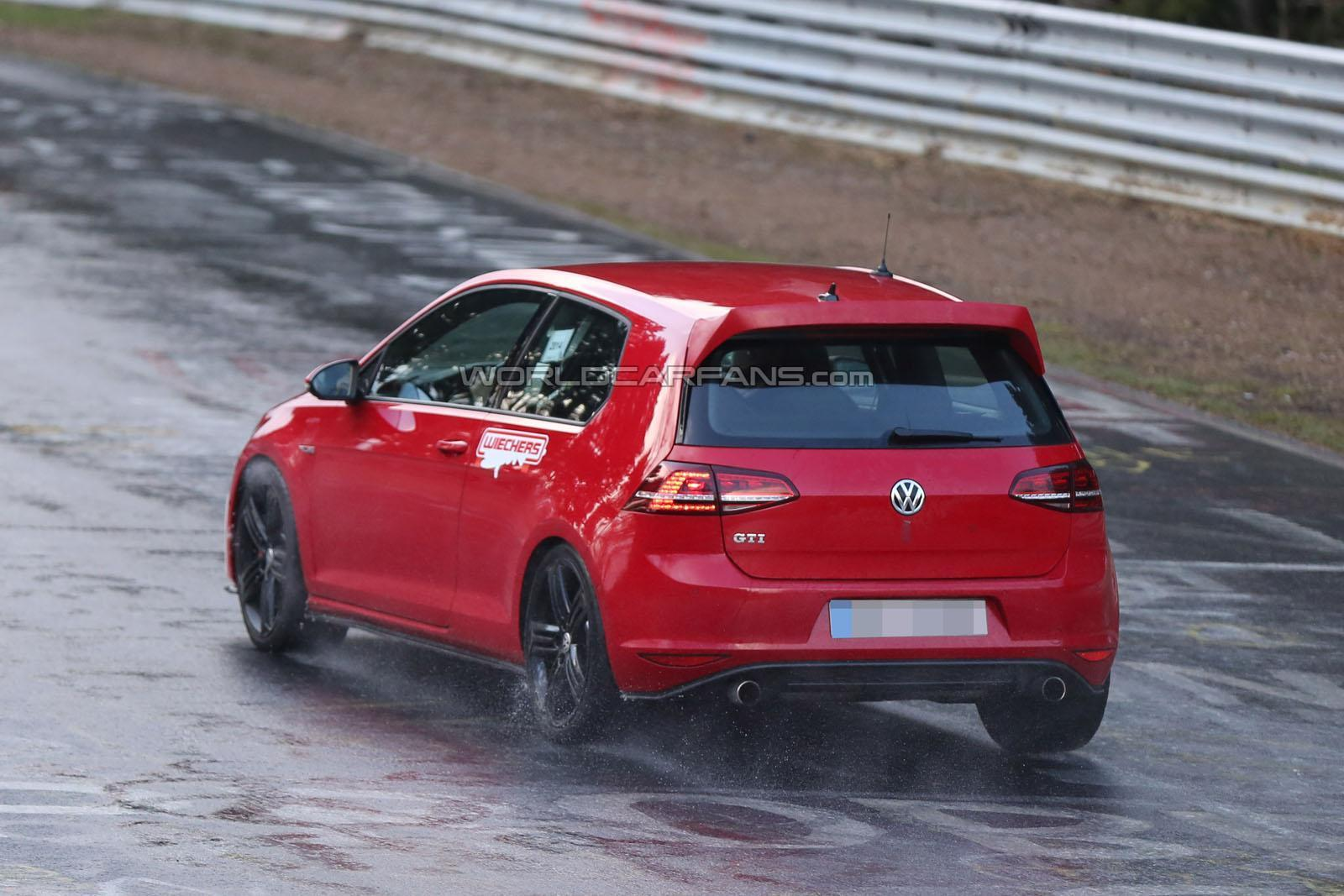 volkswagen cars news golf gti club sport spied on n rburgring. Black Bedroom Furniture Sets. Home Design Ideas