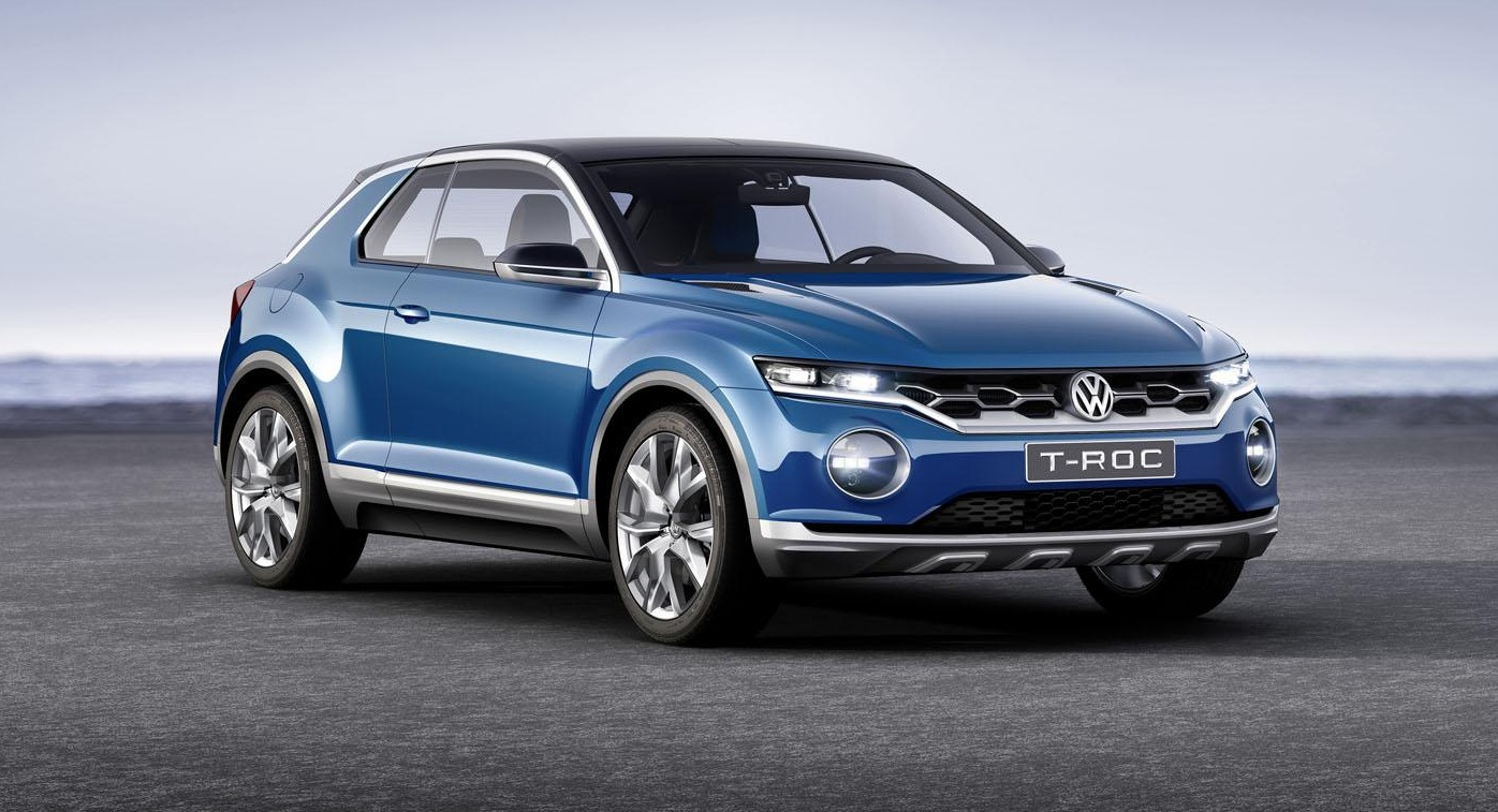 volkswagen cars news t roc concept previews new crossover. Black Bedroom Furniture Sets. Home Design Ideas