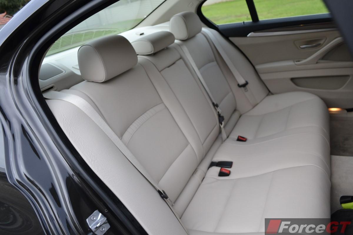 Bmw 535d Interior 535d Interior Rear Seats
