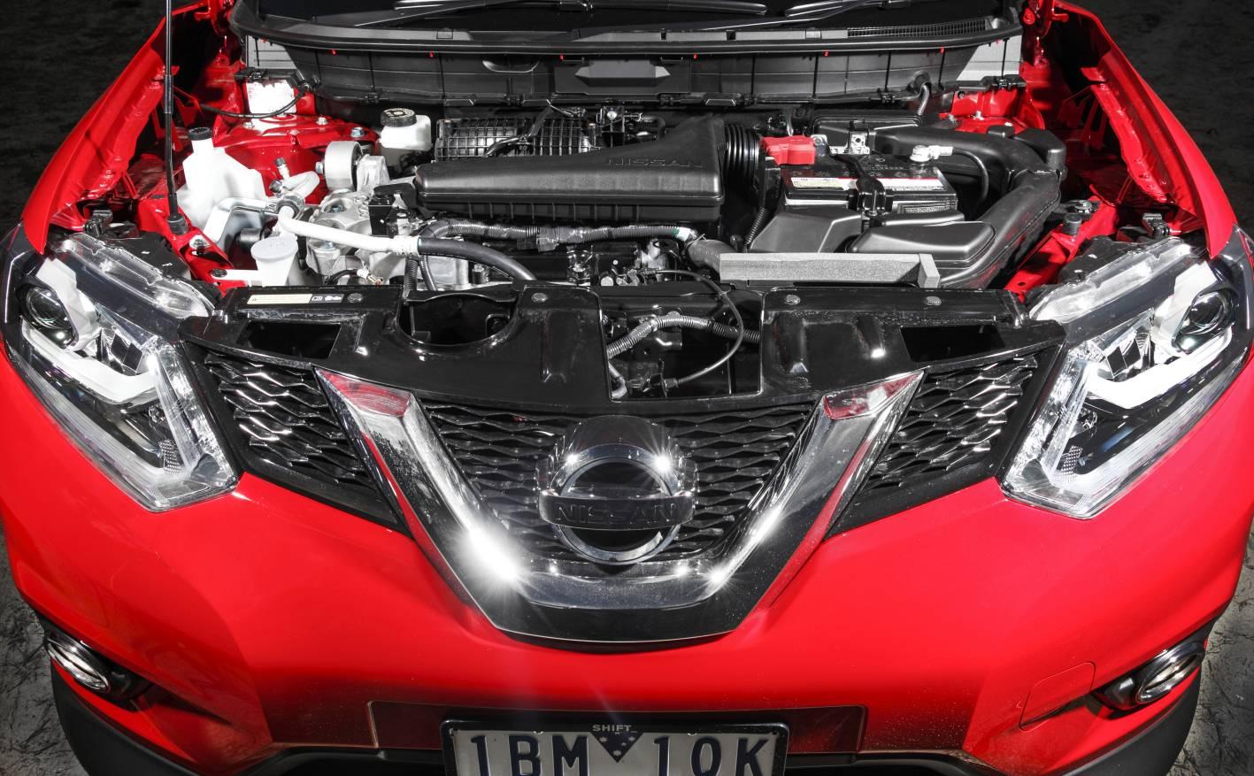 2014 Nissan X Trail Engine Bay