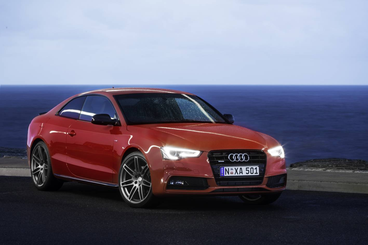 audi cars news a5 coupe s line competition introduced. Black Bedroom Furniture Sets. Home Design Ideas