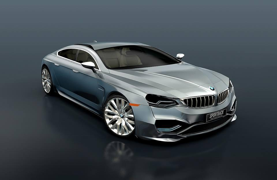 bmw cars news bmw 9 series concept rendered. Black Bedroom Furniture Sets. Home Design Ideas