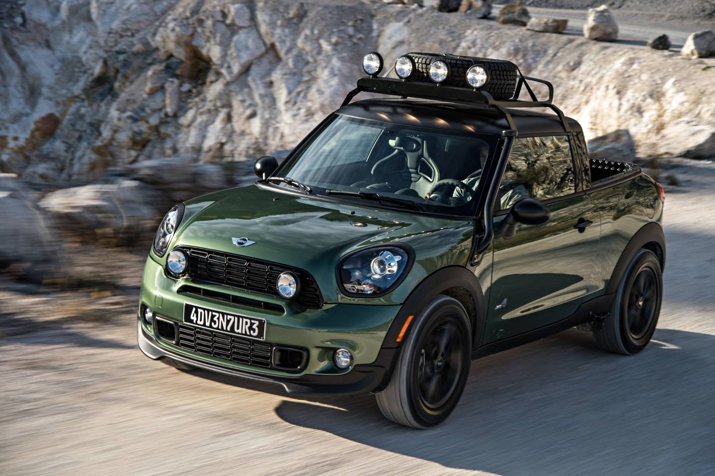 Mini Cars News One Off Mini Paceman Adventure Showcased