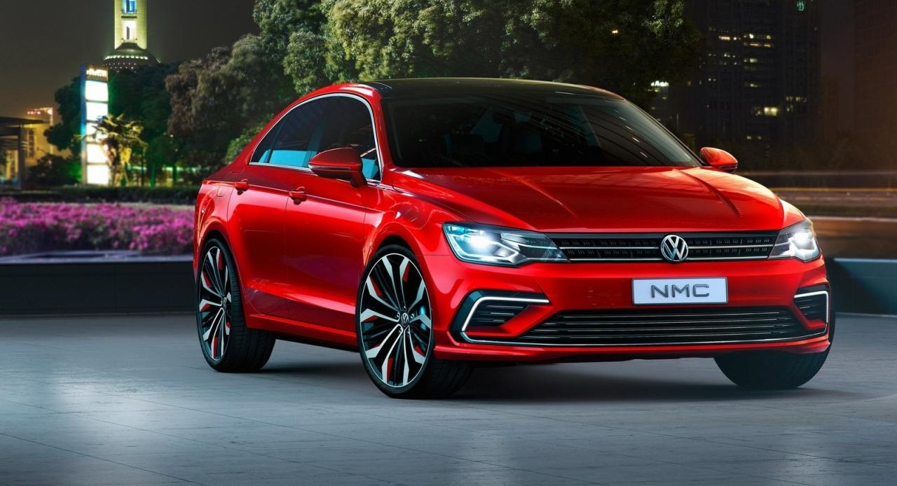 Volkswagen Cars - News: Midsize Coupe Concept - coming in 2016