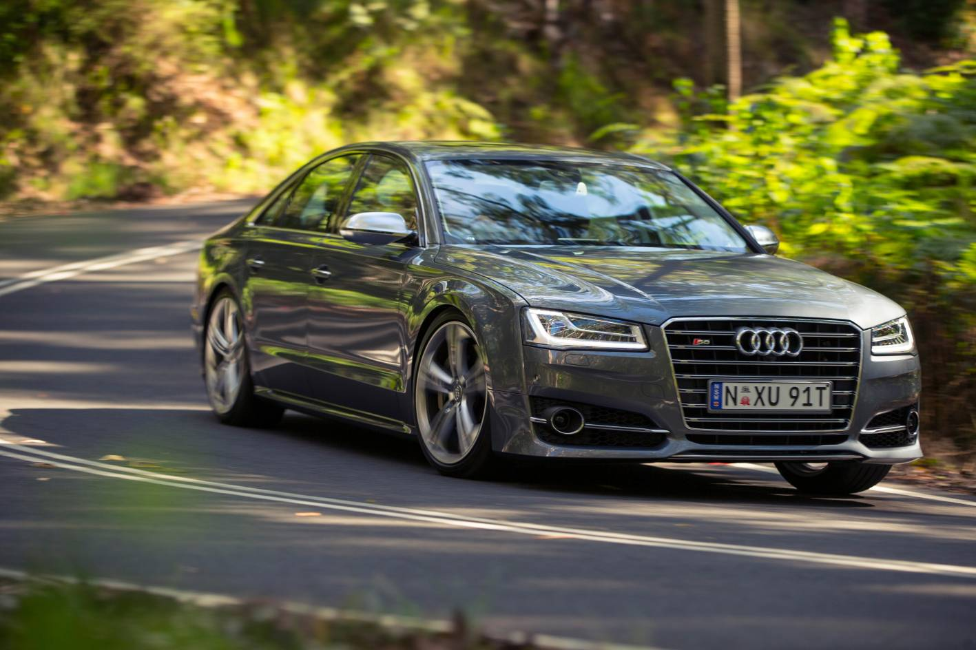 audi cars news 2014 s8 arrives in australia from 279 000. Black Bedroom Furniture Sets. Home Design Ideas