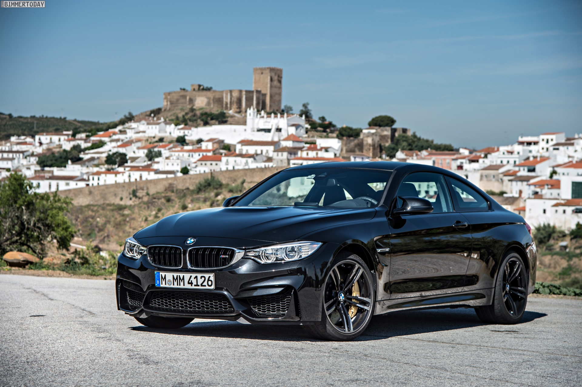 bmw cars wallpapers bmw m4 coupe in sapphire black. Black Bedroom Furniture Sets. Home Design Ideas