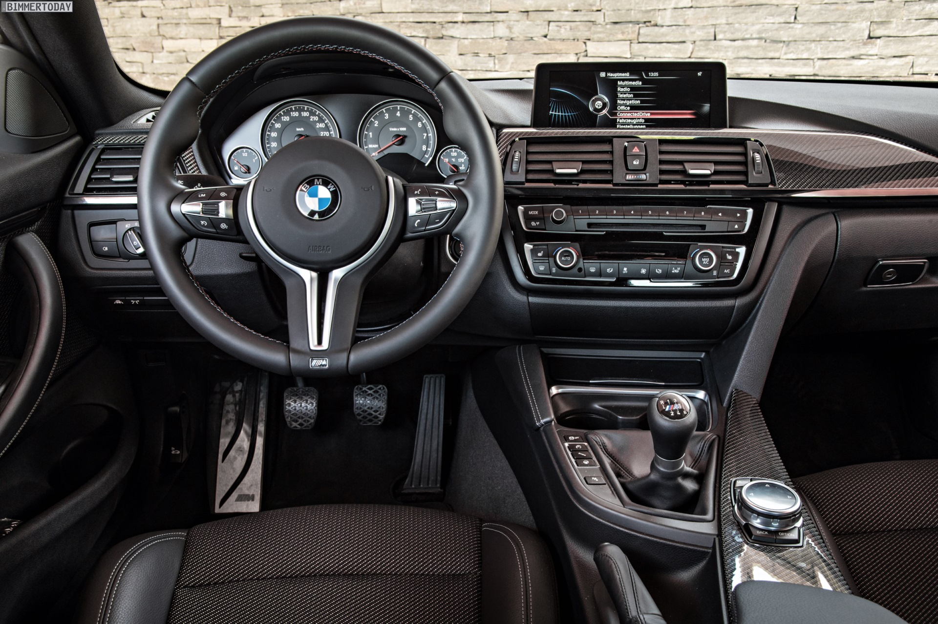 BMW Cars - Wallpapers: BMW M4 Coupe in Sapphire Black