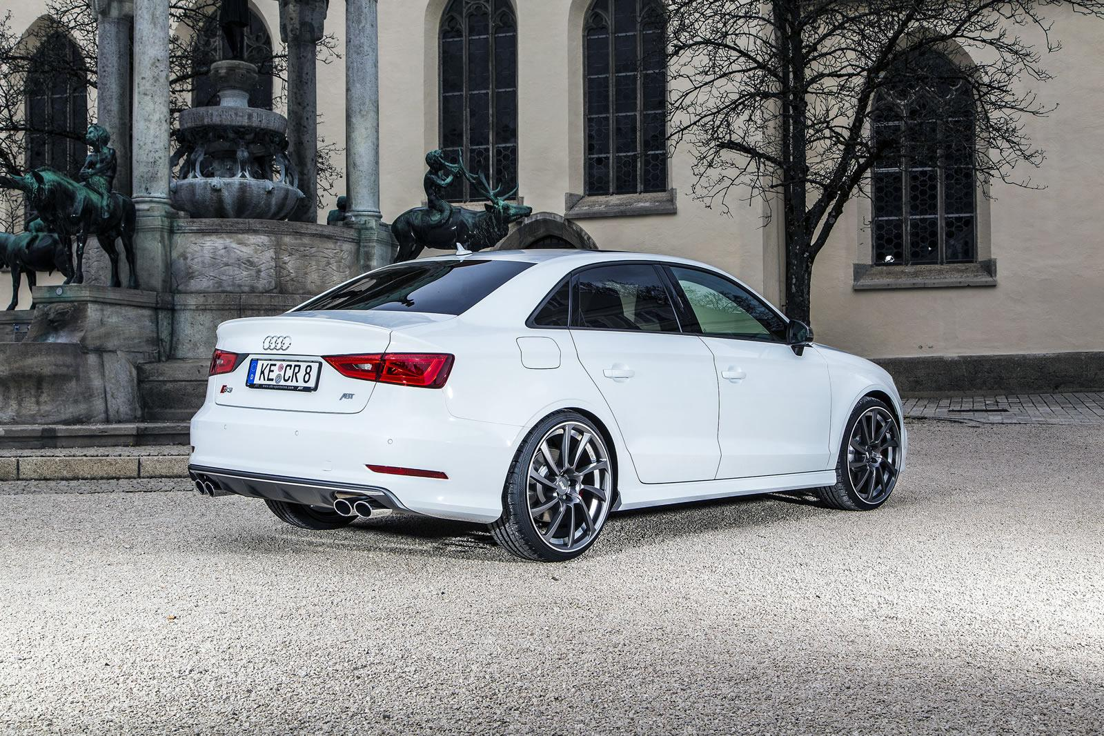 Audi A3 Car Mats >> Audi Tuning: ABT-tuned S3 Sedan does 0-100km/h in 4.5s