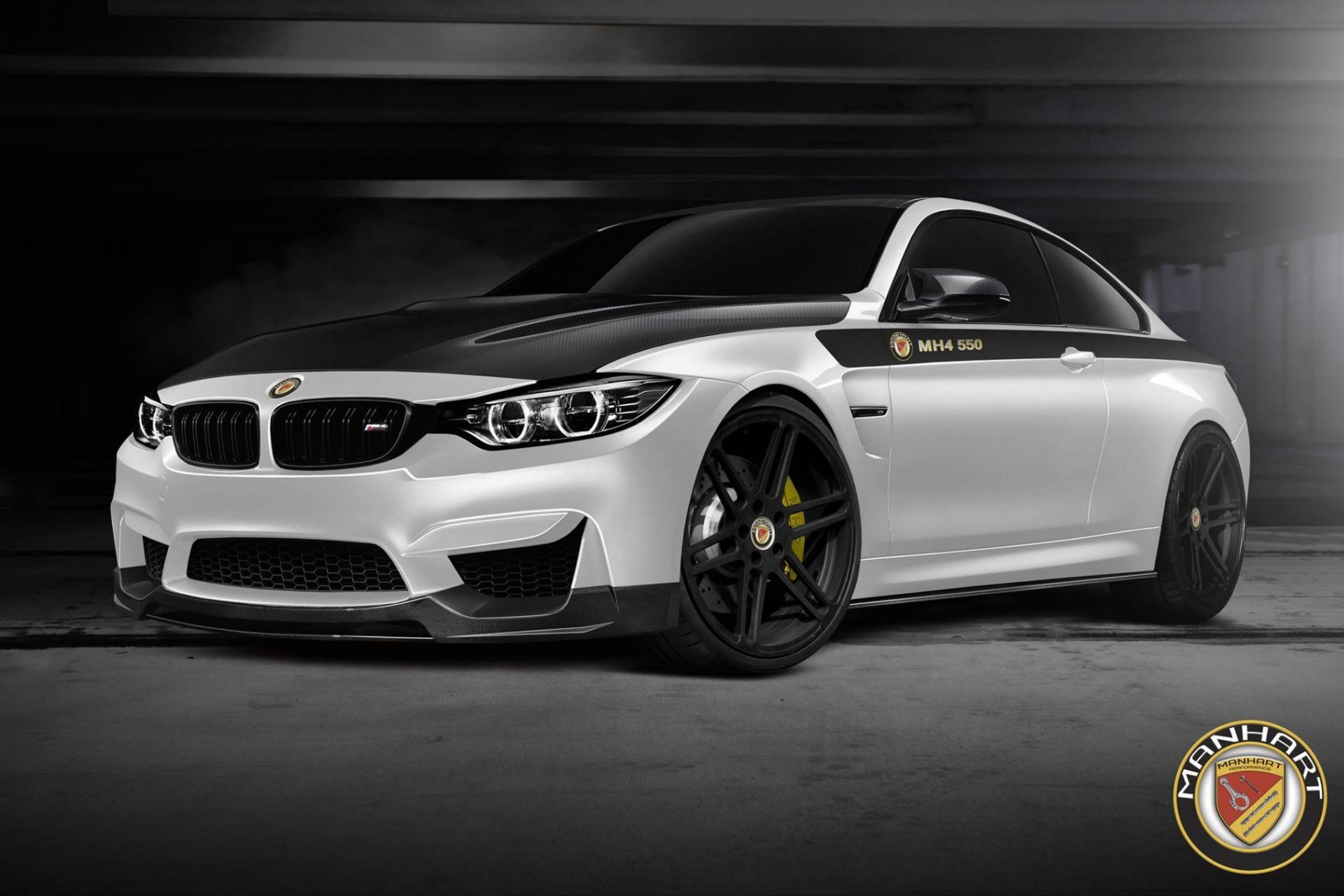 bmw cars tuning manhart racing tuned bmw m4 packs 410kw. Black Bedroom Furniture Sets. Home Design Ideas
