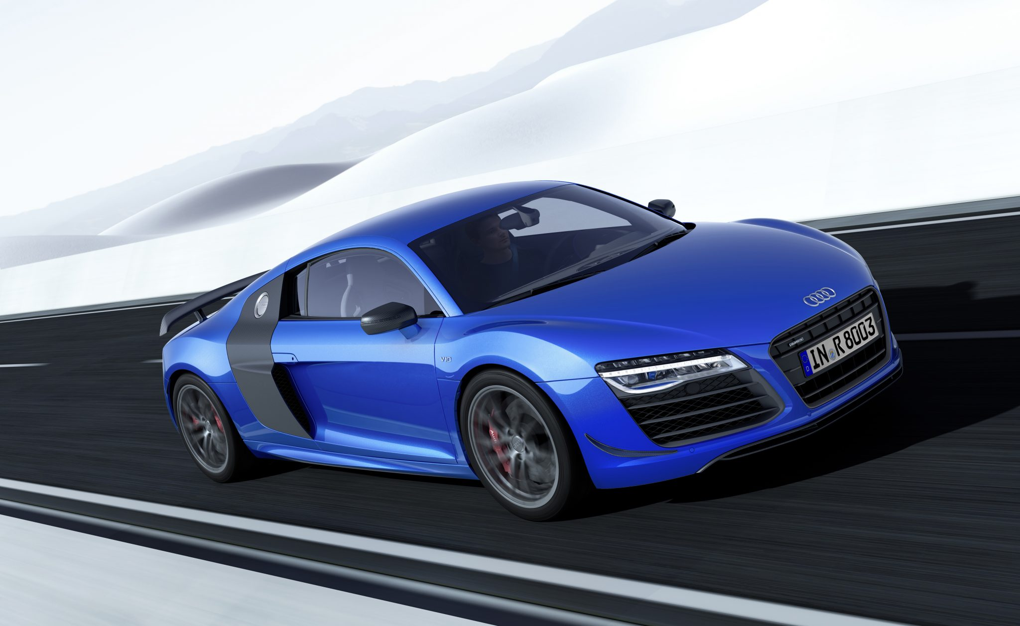 Audi Cars News Le R8 Lmx First In The World With Laser