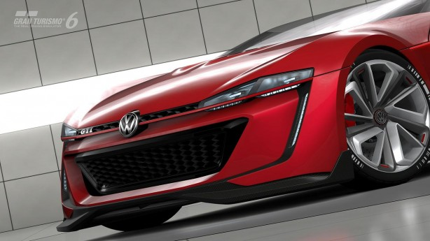 Volkswagen Golf GTI Vision Gran Turismo Roadster front-2