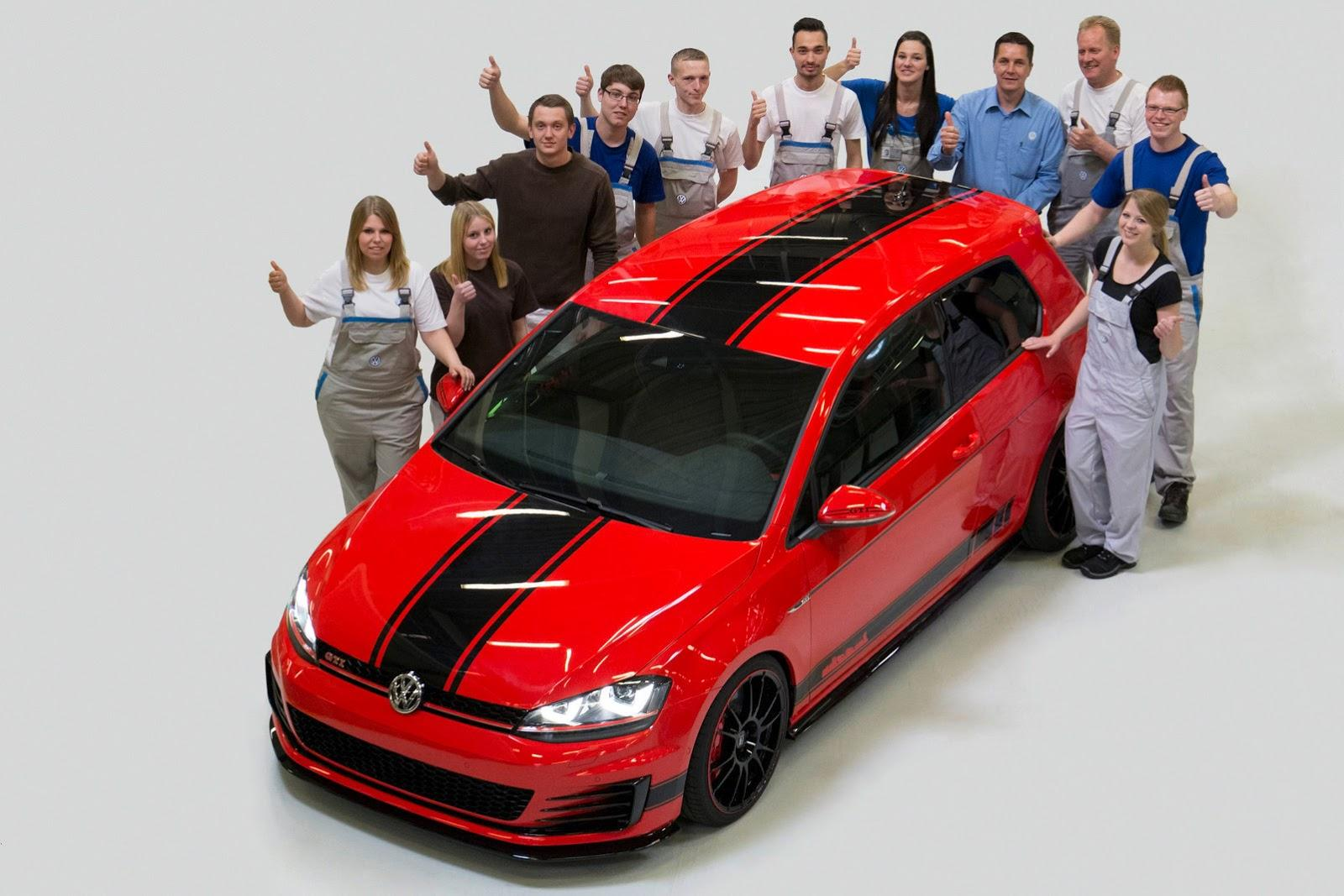 volkswagen tuning 279kw golf gti wolfsburg edition. Black Bedroom Furniture Sets. Home Design Ideas