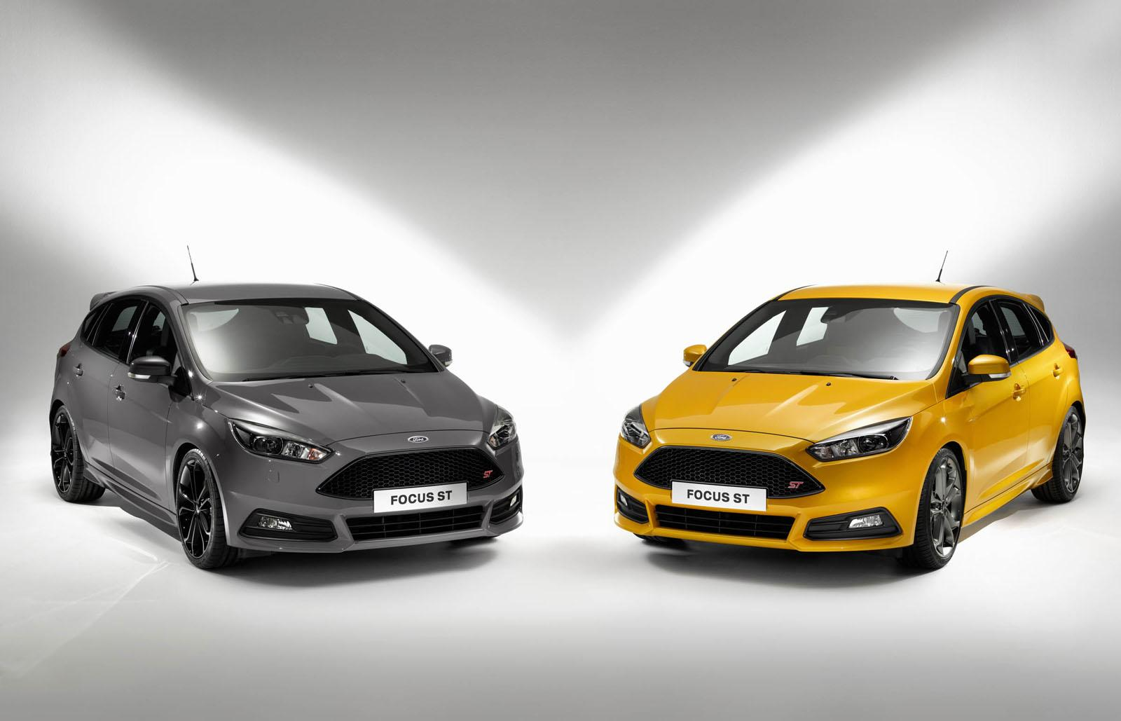 ford cars news 2015 focus st on sale in the uk from 22 195. Black Bedroom Furniture Sets. Home Design Ideas