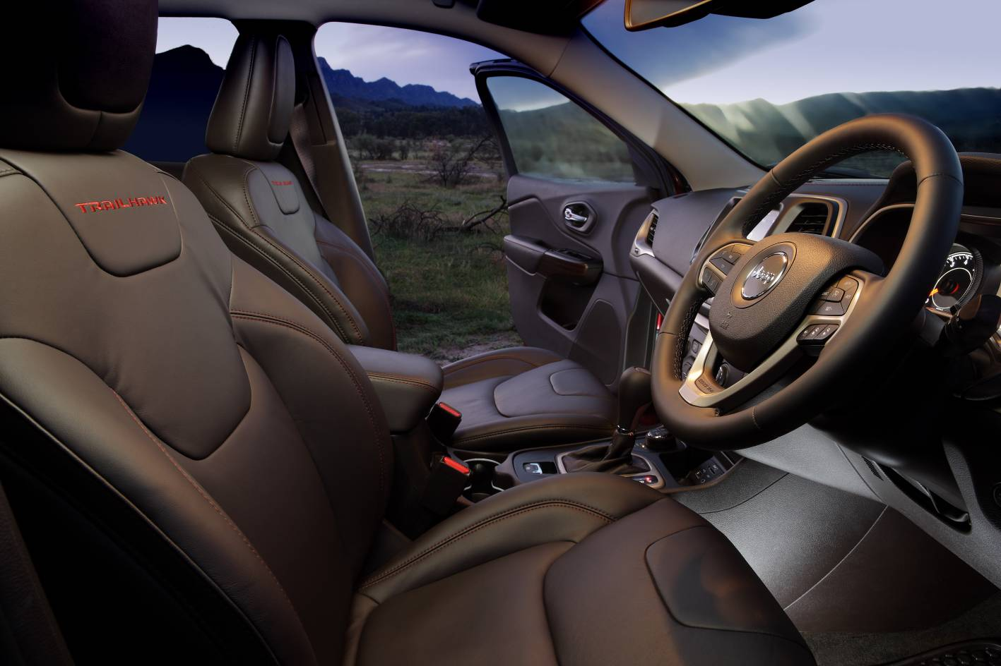 2015 Jeep Cherokee Trailhawk Interior