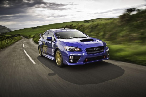 2015-Subaru-WRX-STI-Isle-of-Man-TT-lap-record-front-quarter