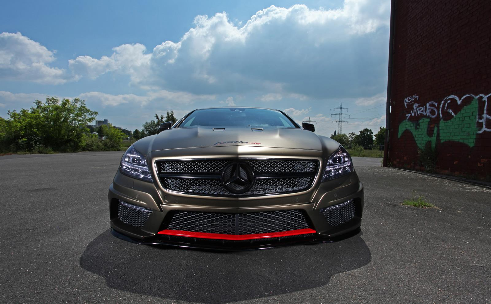Mercedes tuning fostla tuned cls 350 cdi for Mercedes benz cls series