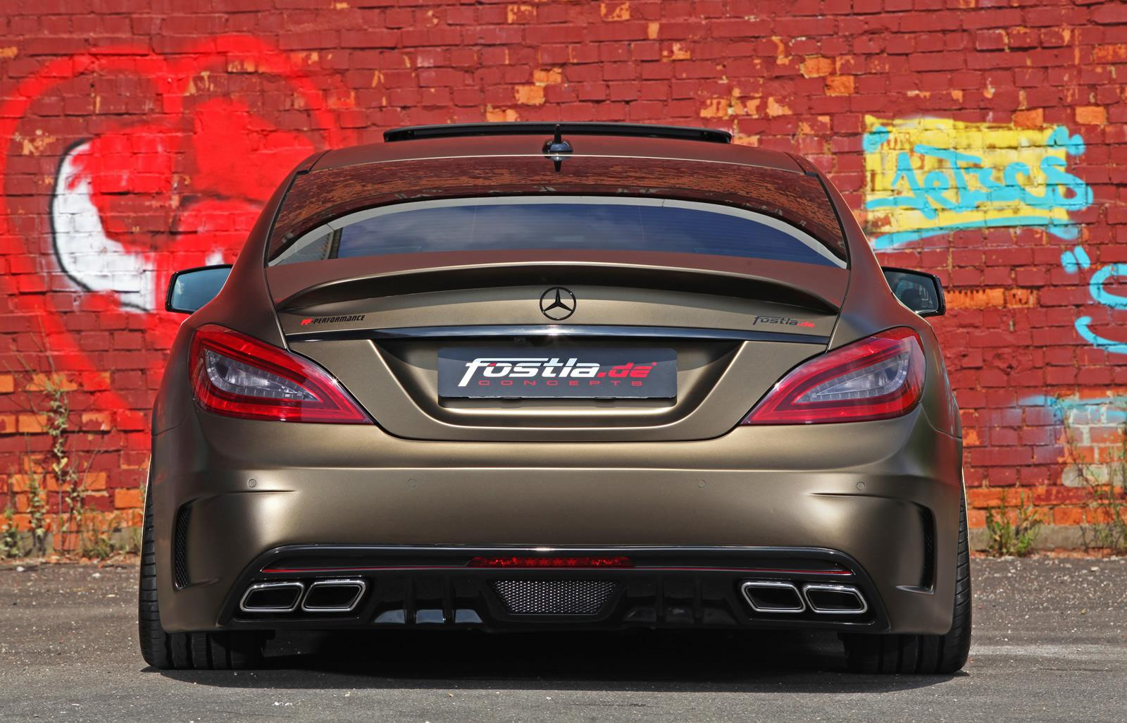 mercedes tuning fostla tuned cls 350 cdi. Black Bedroom Furniture Sets. Home Design Ideas