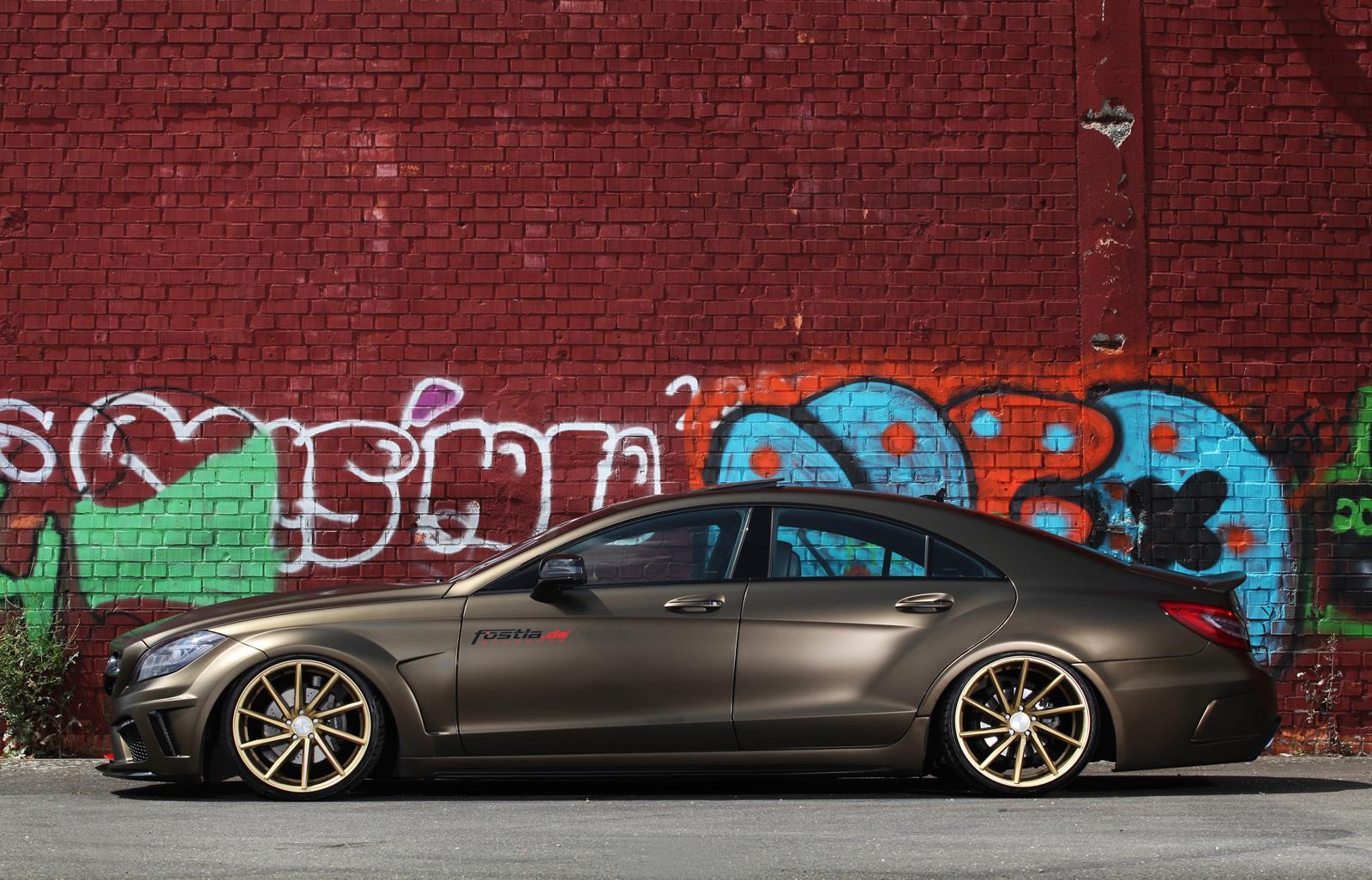 Mercedes Tuning Fostla Tuned Cls 350 Cdi