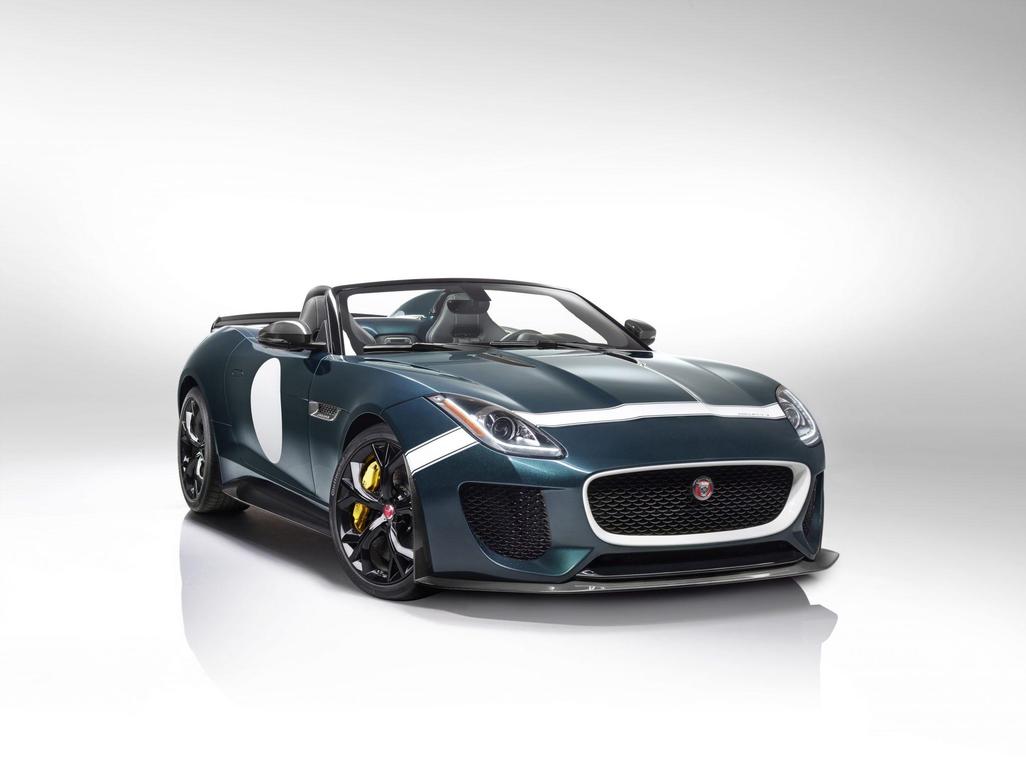jaguar cars news f type project 7 confirmed for production. Black Bedroom Furniture Sets. Home Design Ideas