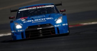 Nissan GT-R Calsonic IMPUL in 2014 Super GT Championship