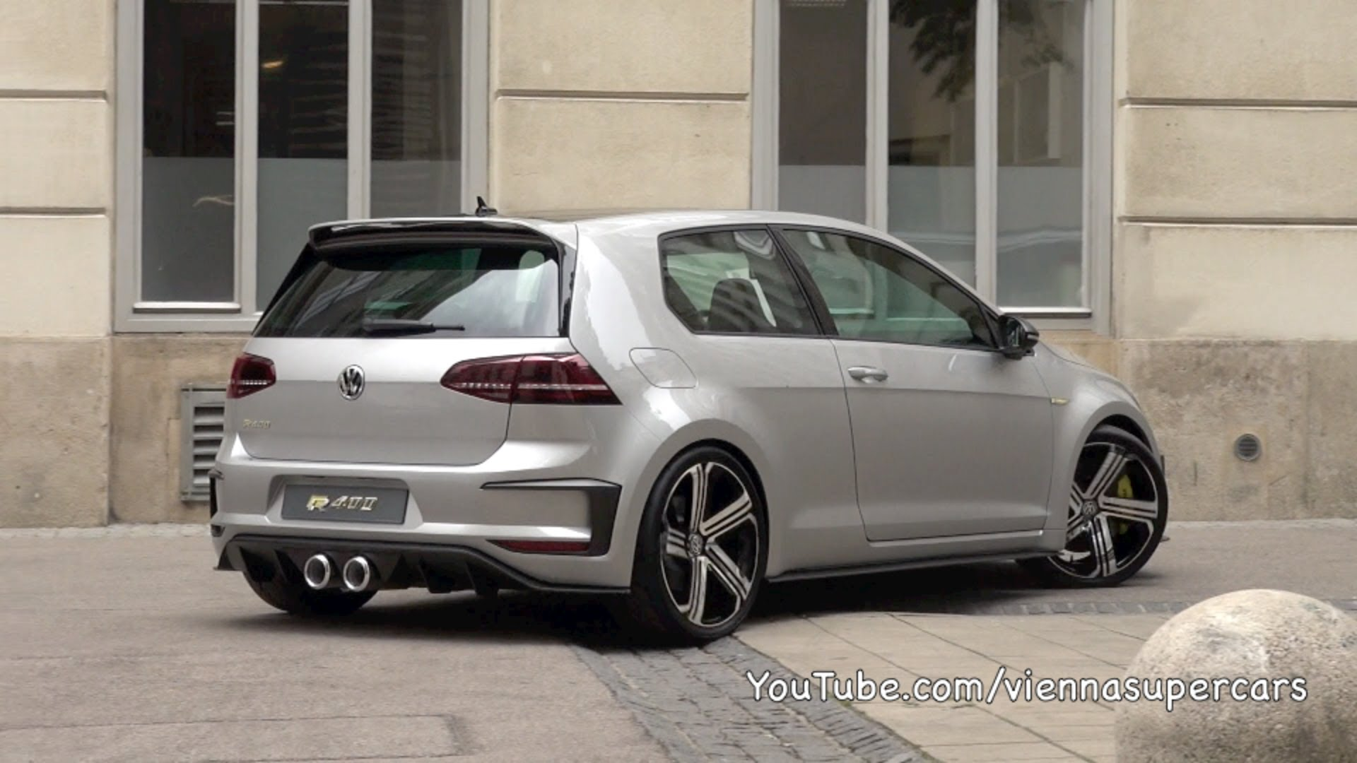 volkswagen cars news hear the golf r 400 exercise its lungs. Black Bedroom Furniture Sets. Home Design Ideas