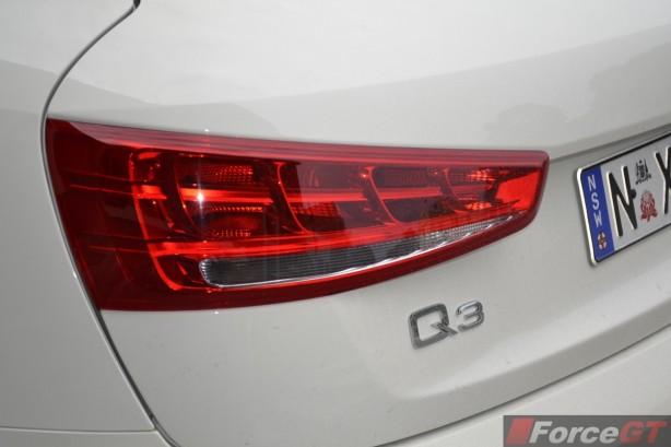 2014 Audi Q3 1.4TSI taillight