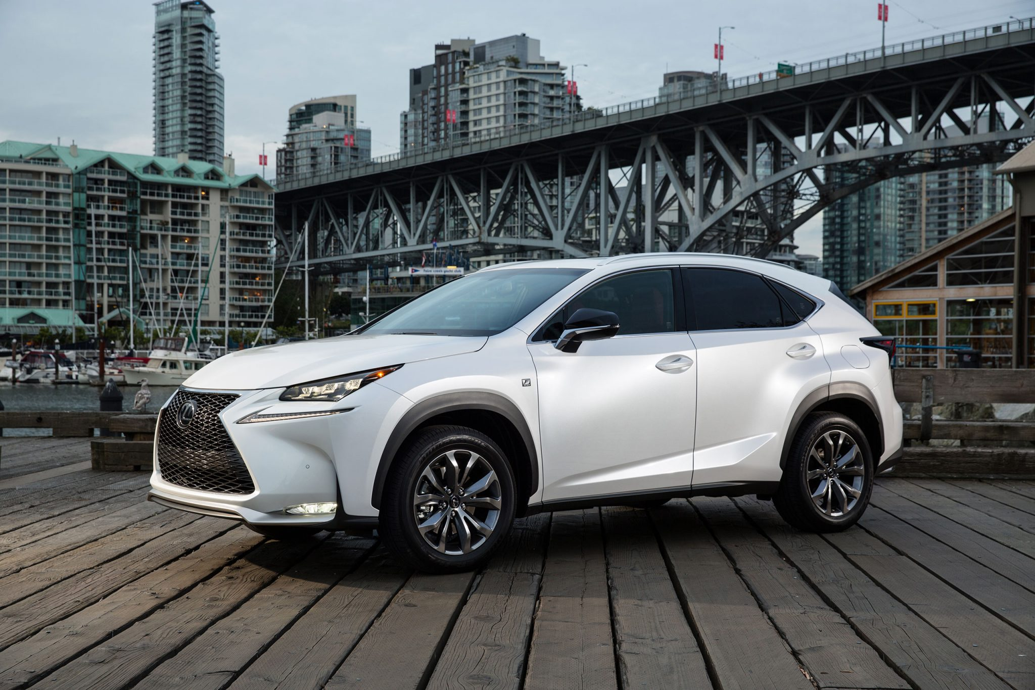 2015 lexus nx 200t f sport front quarter. Black Bedroom Furniture Sets. Home Design Ideas